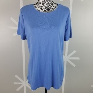 Light Blue Plus Size 18/20 Lane Bryant T-Shirt